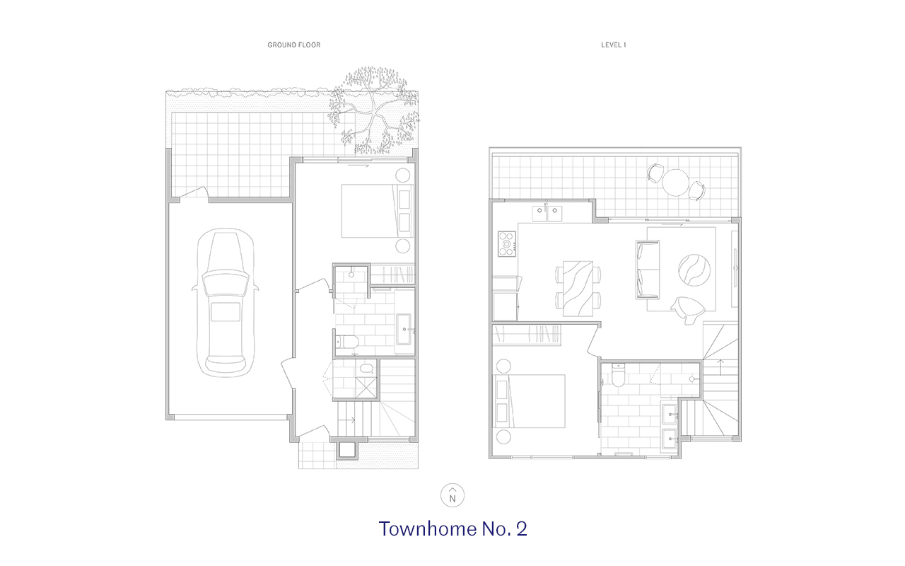 Townhome 2 Floor Plan
