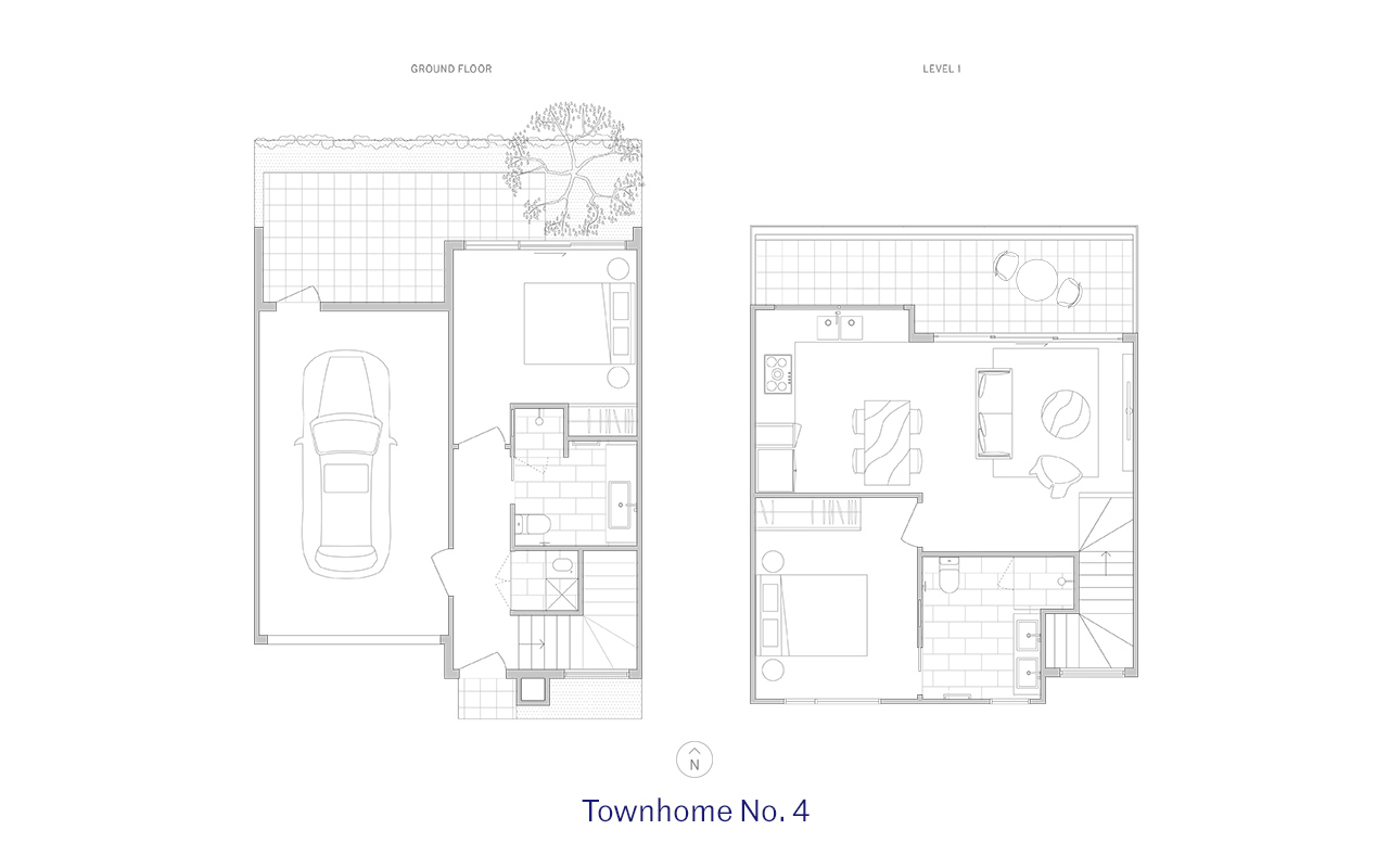 Townhome 4 Floor Plan