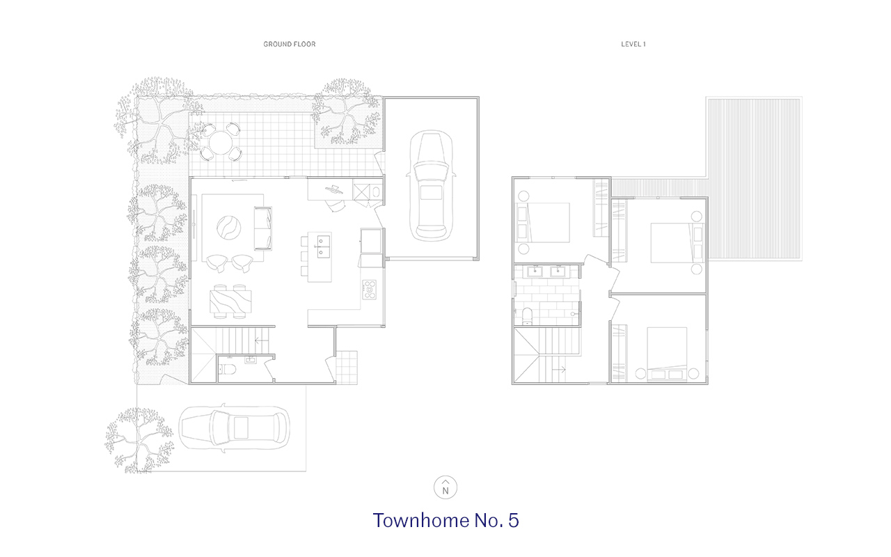 Townhome 5 Floor Plan